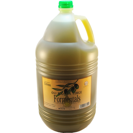 Aceite de oliva virgen Formentals (espolla) 5 litros