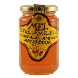 miel artesanal de Fortià bote 0.50kg