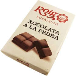 xocolata a la Pedra Roig d'Agramunt