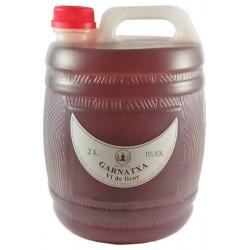 Garrafa de garnatxa 2 litres