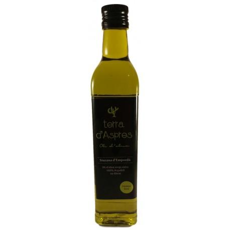 Oli d'oliva Terra d' Aspres. 500 cl.