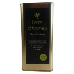 """Aceite de oliva """"Terra d'Aspres"""". Lata 500 cl."""