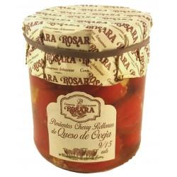 Pebrots Cherry farcits de formatge ovella