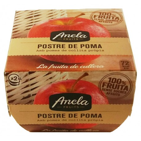 Postre de poma Anela fruits
