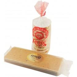 pack économique nougat mou amandes et nougat traditionel xixona