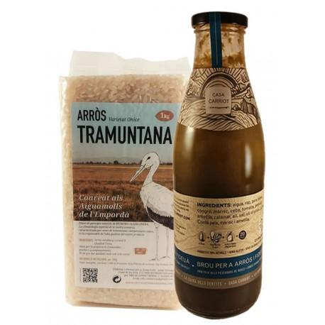 Oferta lot brou casa carriot i arròs Tramuntana