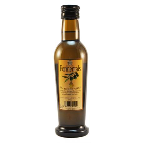 Aceite de oliva virgen Formentals envase 25 cl