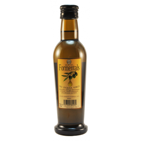 "Huile d'olive vierge ""Formentals"" 25 cl"