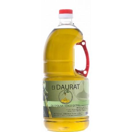 """Aceite de oliva """"El Daurat"""" virgen extra (extracción en frío) 2 litros"""