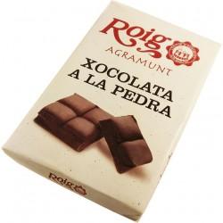 Chocolate a la piedra Roig 350g.