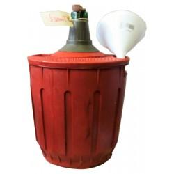 Vermut a granel de Capmany, servit en garrafetes de 2 litres