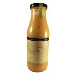 Crème de poireaux au menthe