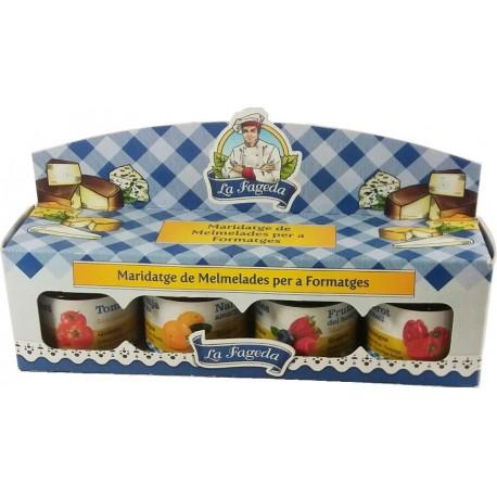 Pack mermeladas maridage de quesos