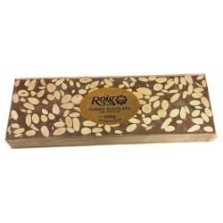 Turrón chocolate almendras Roig 500g