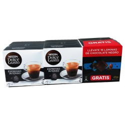 Pack Nescafé dolce gusto espresso intenso
