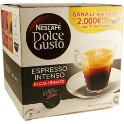 Capsules Nescafé Espresso Intenso descaffeinato