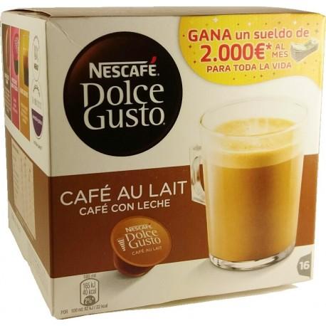 dolce gusto café con leche