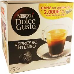 Cápsulas Nescafé espresso intenso