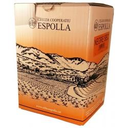 Vin rouge 3 litres de vin Espolla coopérative