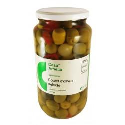 olives macérées au style traditionnel