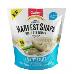 snack guisantes horneados al punto de sal.