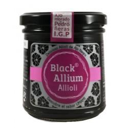 """Alioli à l'ail noir """"Black allium"""" 135g"""