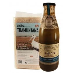 Oferta caldo casa Carriot y arroz Tramuntana