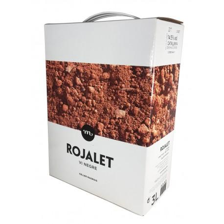 ROJALET CAVES À VIN ROUGE MASROIG BOX 3LITRES