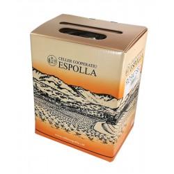 VINO ROSADO CELLER COOPERATIVA ESPOLLA BOX DE 3 LITROS