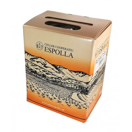 VI ROSAT CELLER COOPERATIU ESPOLLA BOX  3 LITRES