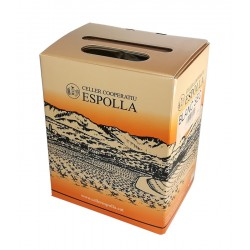 VI BLANC CELLER COOPERATIU ESPOLLA BOX 3 LITRES