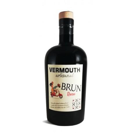 Vermouth artisanal Brun rosso